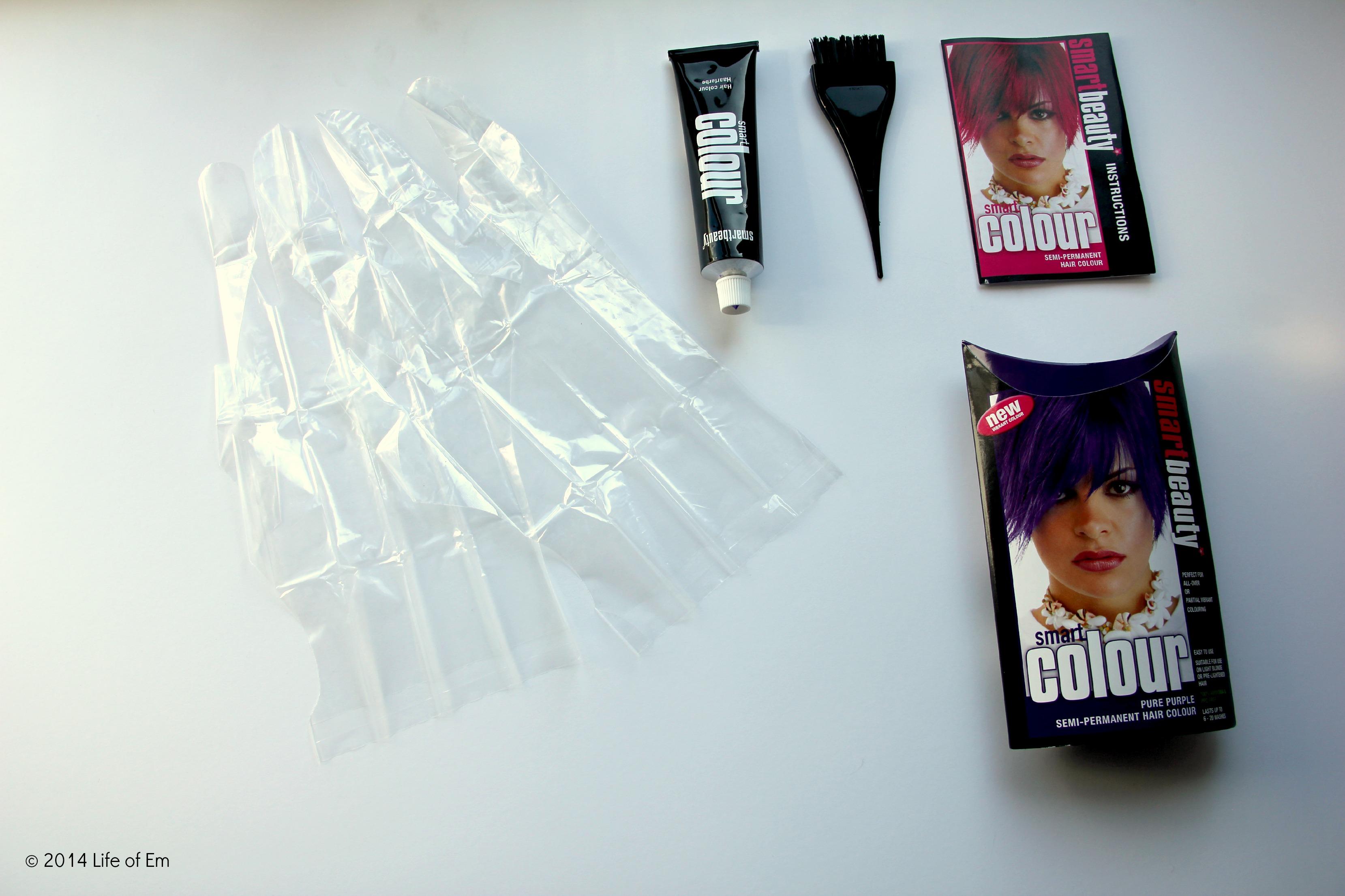 dip dye hair instructions