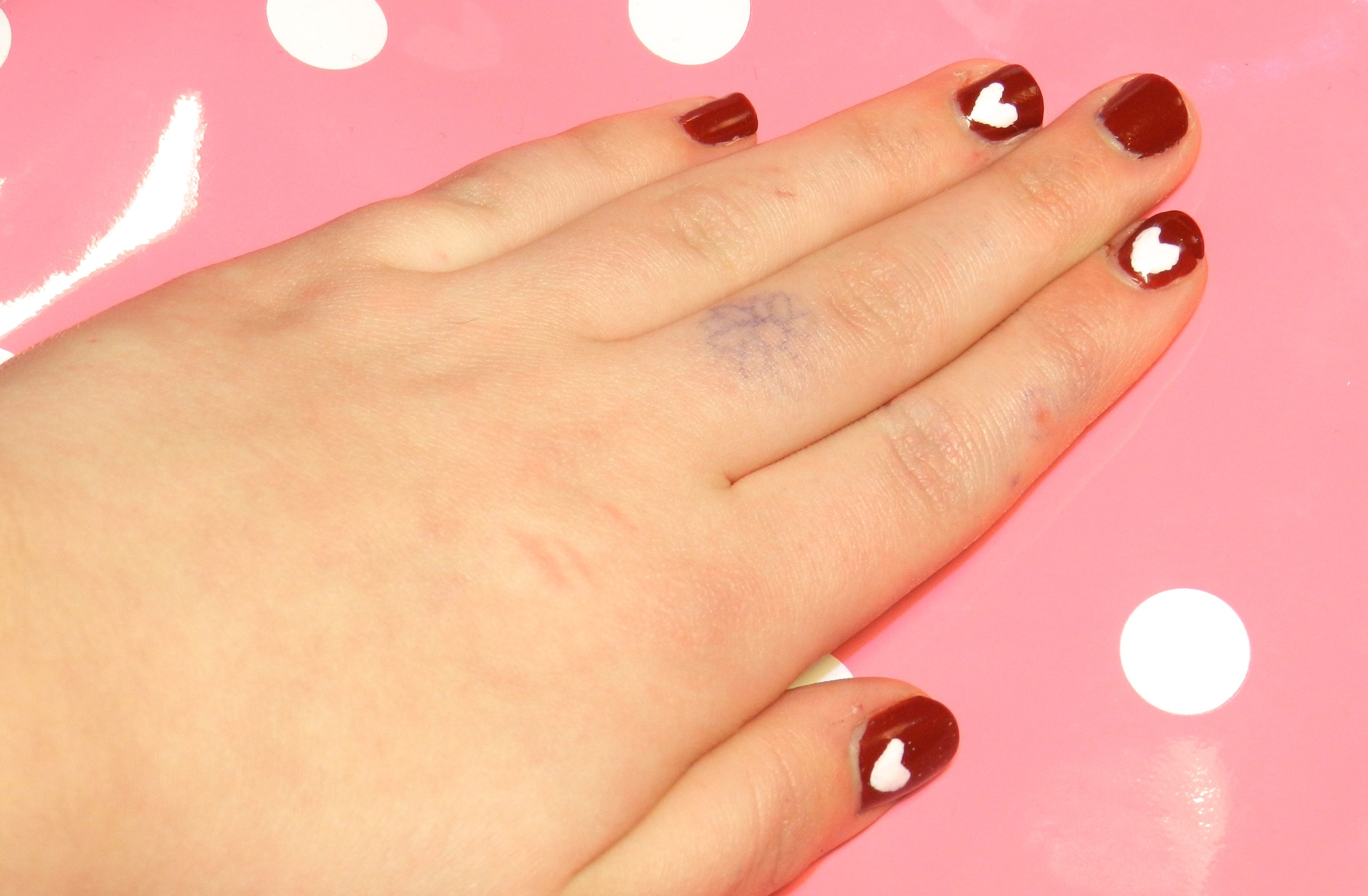 valentines nails 3